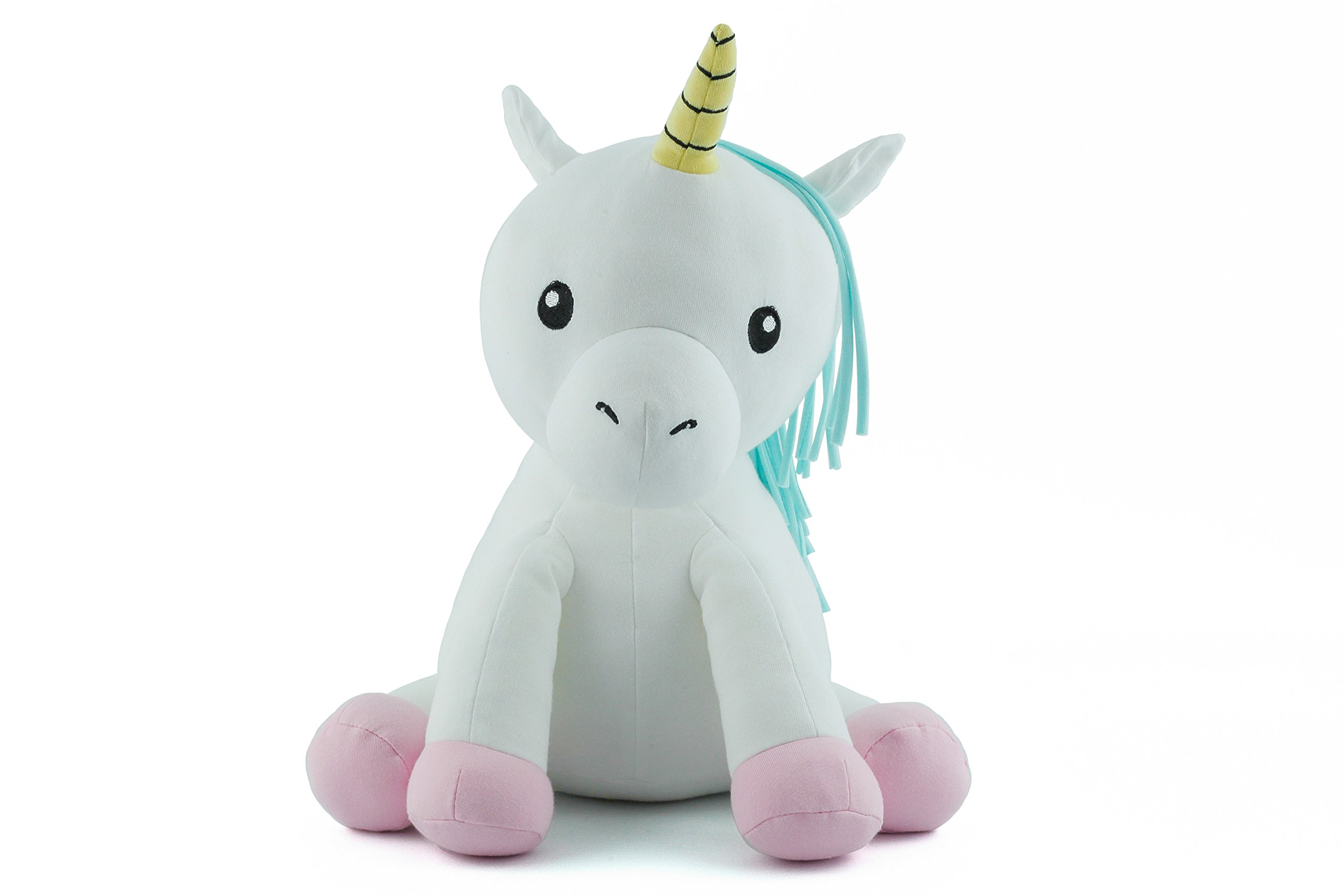 Elly Lu Cupcake The Unicorn - Organic Stuffed Animal (15 in) by Elly Lu