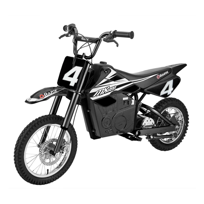 Razor MX650 17 MPH Steel Electric Dirt Rocket Motor Bike for Teens 16+, Black by Razor