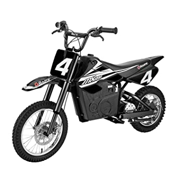 Amazon.com: Razor MX650 17 MPH - Moto eléctrica de acero ...