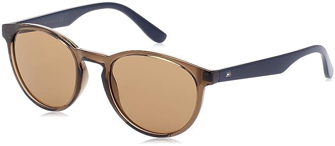 Unisex-Adults TH 1485/S IR Sunglasses, Black, 52 Tommy Hilfiger