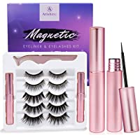 Deals on Arishine Magnetic Eyeliner and Lashes Kit (5 Pairs)