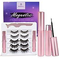 Arishine Magnetic Eyeliner and Lashes Kit (5 Pairs) Deals