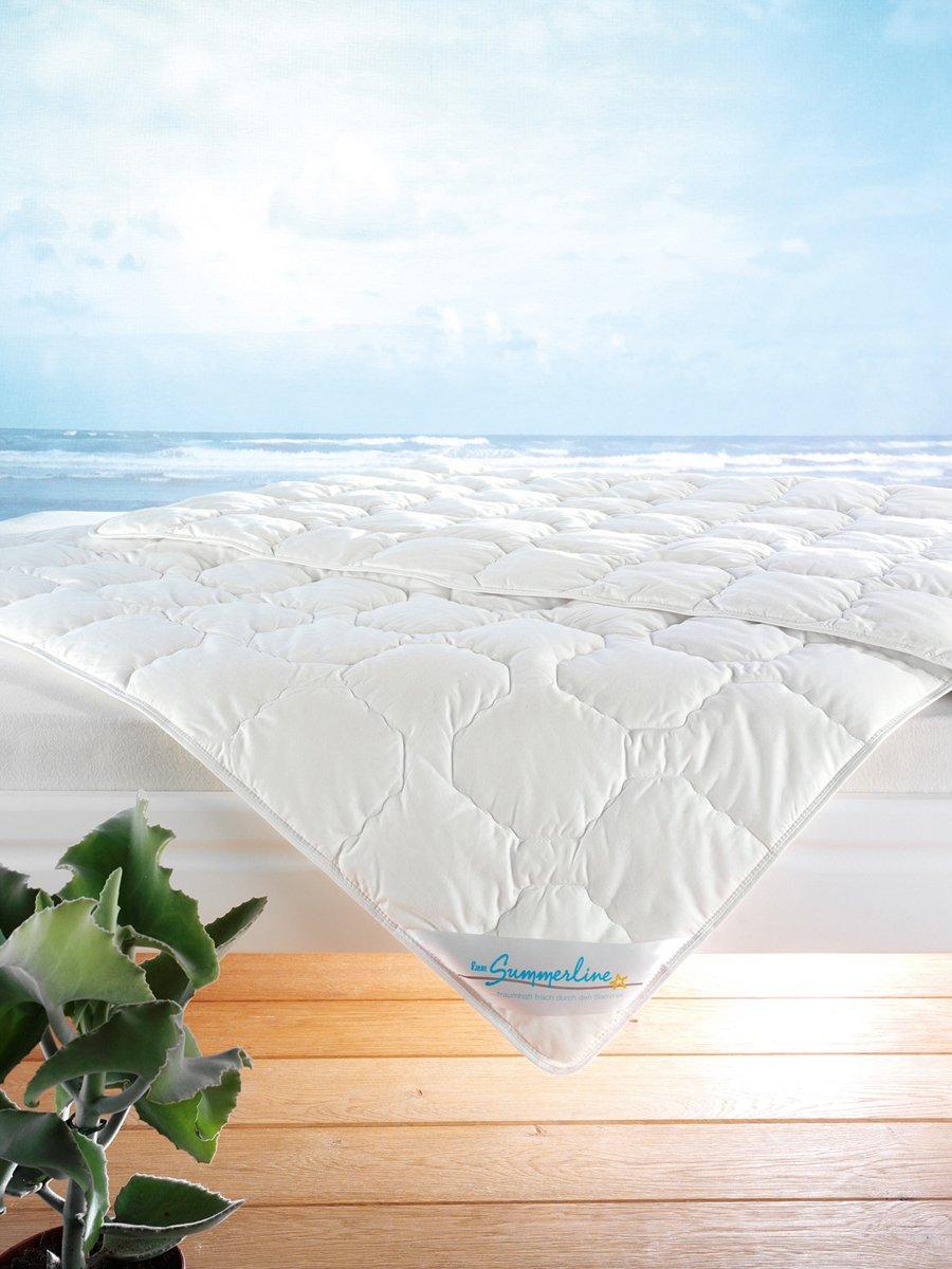 F.a.n. Wash Cotton - Sommer Bettdecke, 200x200 cm, extra groß