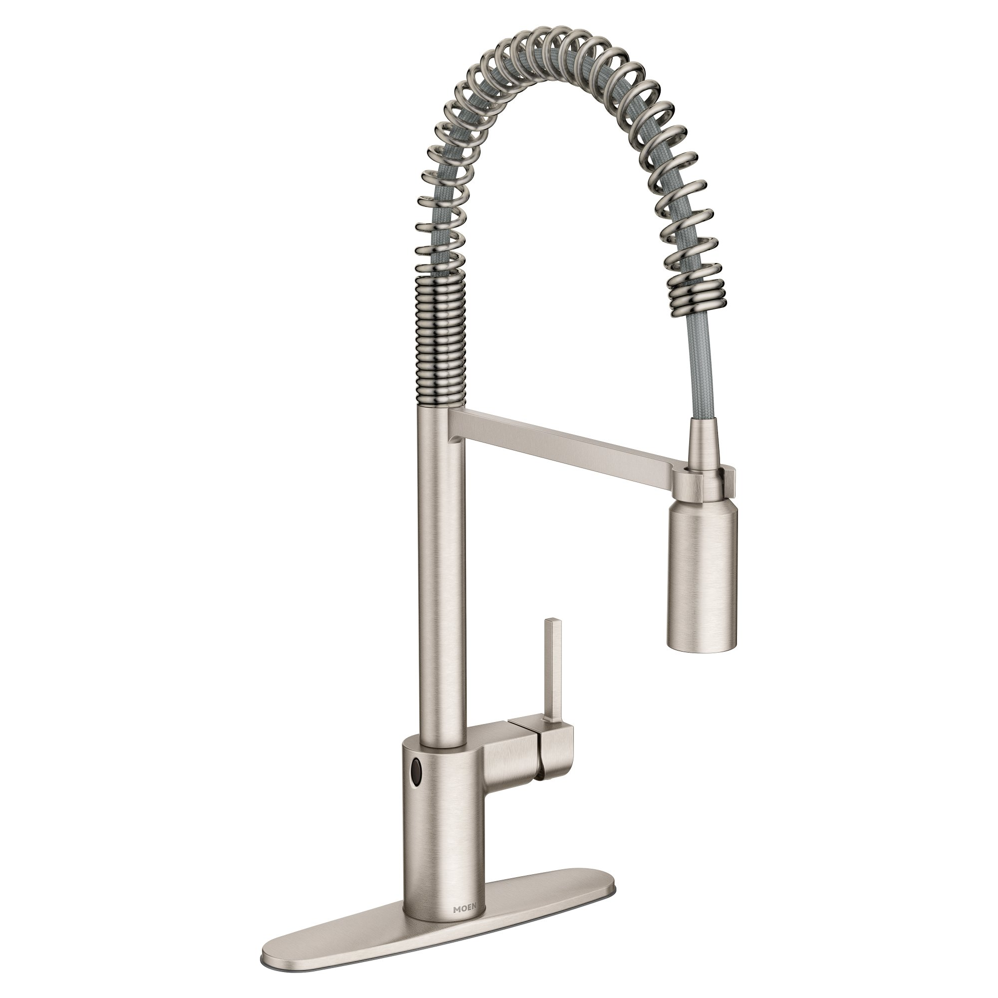 Moen 5923EWSRS Align Motionsense Wave Sensor Touchless One-Handle High Arc Spring Pre-Rinse Pulldown Kitchen Faucet, Spot Resist Stainless by Moen (Image #8)