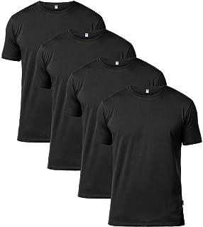 06d6ebade1a3c LAPASA 2 Camisetas para Hombre de Algodón ELS Manga Corta  Amazon.es ...
