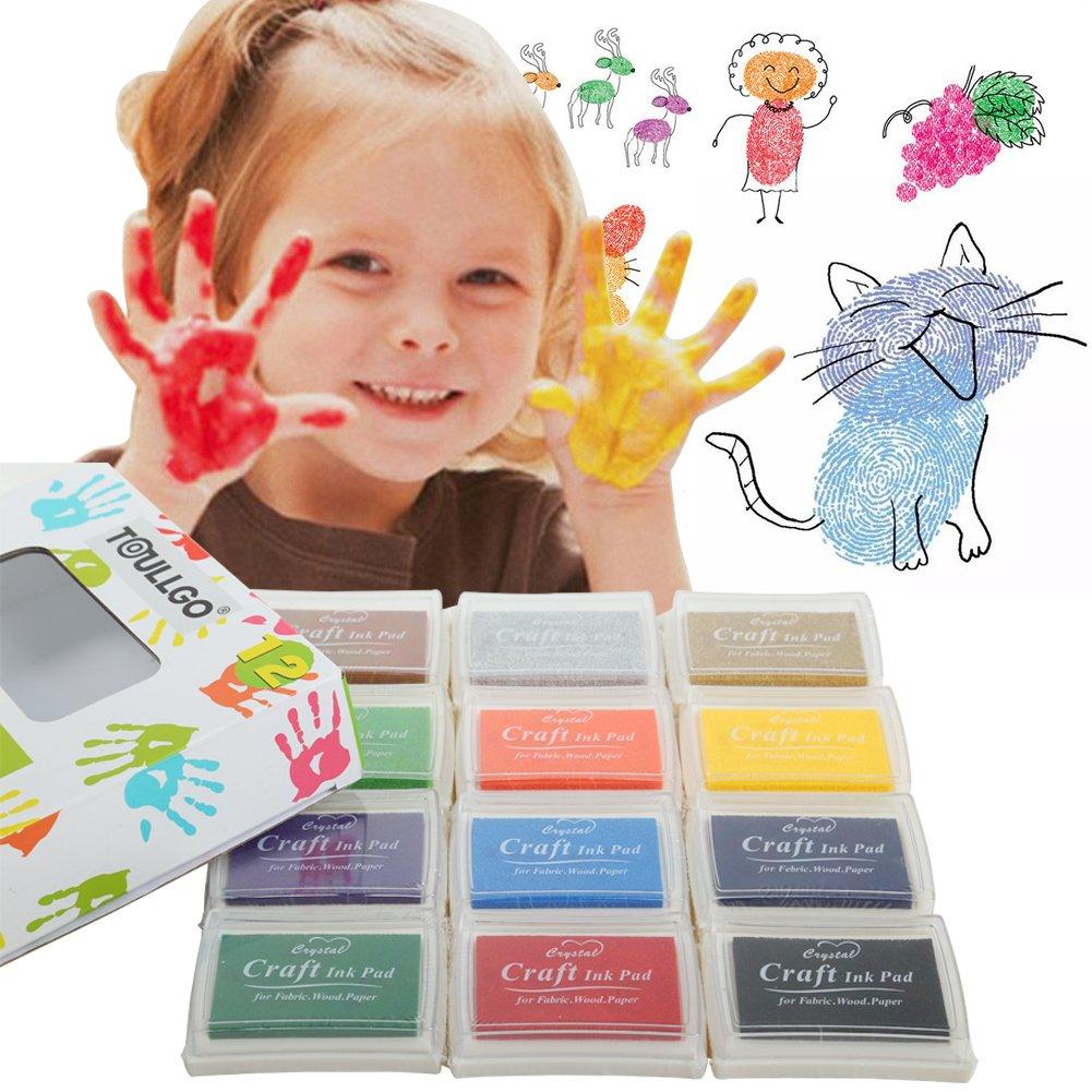 Stempelkissen Stamp Pad Fingerdruck für Kartemachen Handwerk