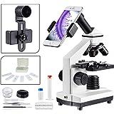 USCAMEL Microscopio paraniños ,de Vidrio Optico de Alta