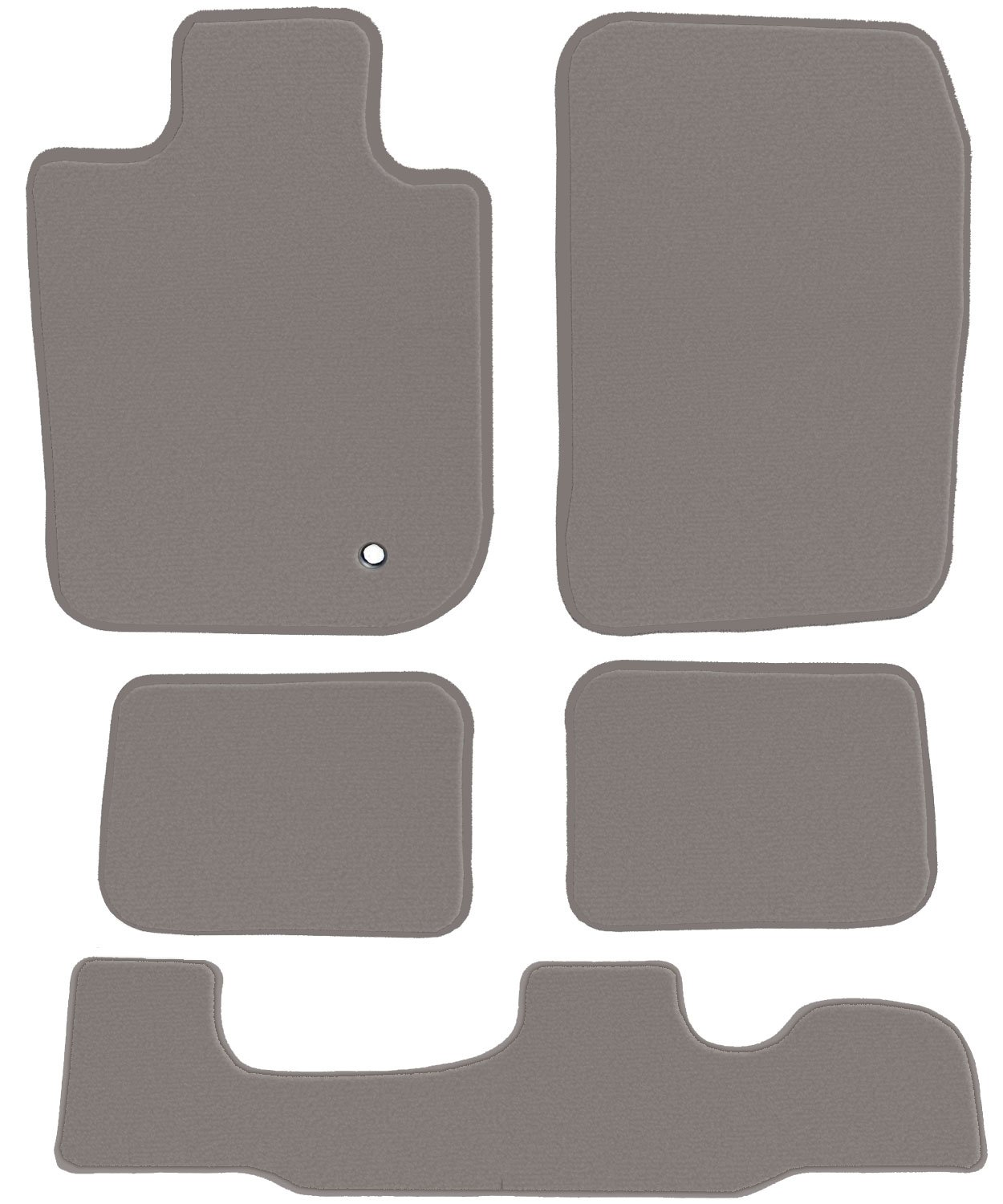 2013 Passenger 2008 2nd /& 3rd Row 2012 GGBAILEY D3547A-LSB-GY-LP Custom Fit Car Mats for 2007 2011 2014 Chevrolet Tahoe Grey Loop Driver 5 Piece Floor 2010 2009
