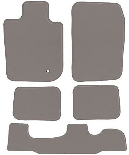2012 Passenger /& Rear Floor GGBAILEY D50934-S1A-GY-LP Custom Fit Car Mats for 2011 2013 2014 Ford Edge Grey Loop Driver