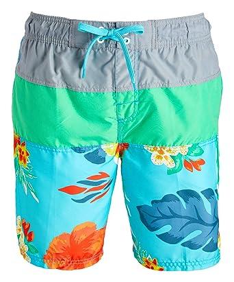 625041dc783ec Kanu Surf Men's Koloa Panel Swim Trunk, Aqua, Small