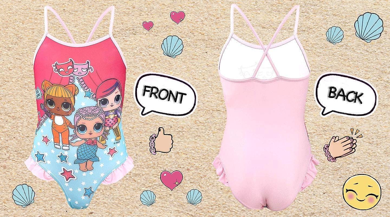 Splendidamente Disegnato | L.O.L Surprise! Costume da Bagno per Bambina Premium