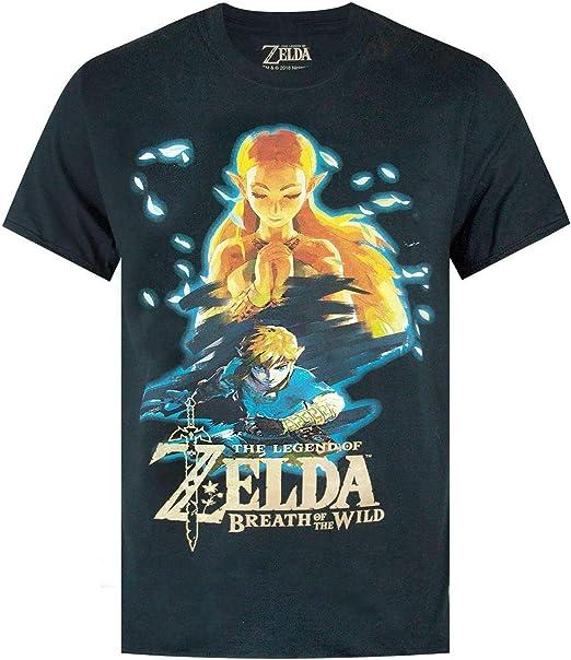 Zelda The Legend of Breath of The Wild Camiseta de Manga Corta ...