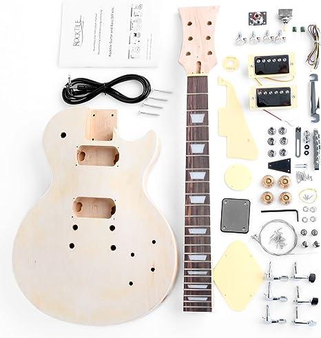 Rocktile DIYLP - Kit completo montaje de guitarra eléctrica tipo ...