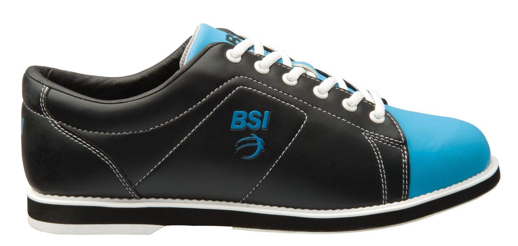 BSI Women's Classic  Bowling Shoe, Black/Blue, 8.5 by BSI