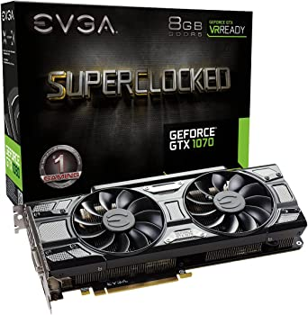 EVGA GeForce GTX 1070 SC 8GB Graphics Card