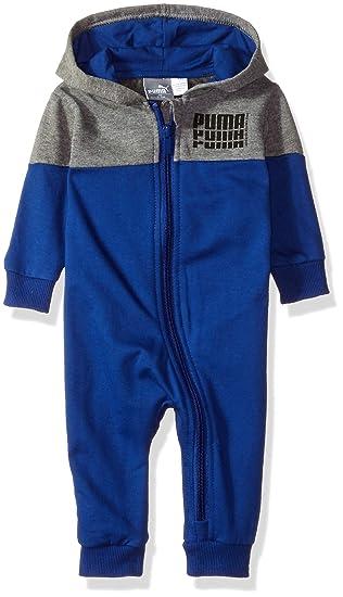 a476ac916dba Amazon.com  PUMA Baby Boys  Fleece Coverall  Clothing