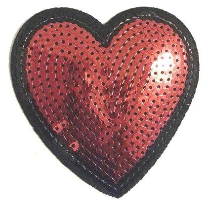 patch pour broderie coeur badge applique brode ecusson thermocollant 1COxZUwxq
