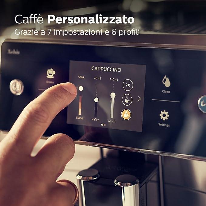 Saeco Xelsis SM7683//00 Macchina da Caffè Automatica con Macine in Ceramica NEW