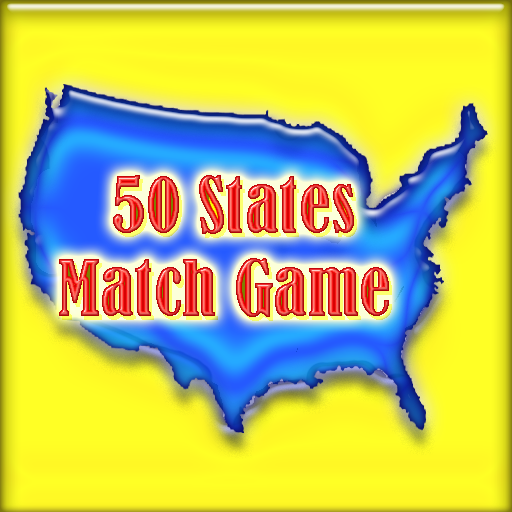50 States Match Game (for Kindle, Tablet & Phone)