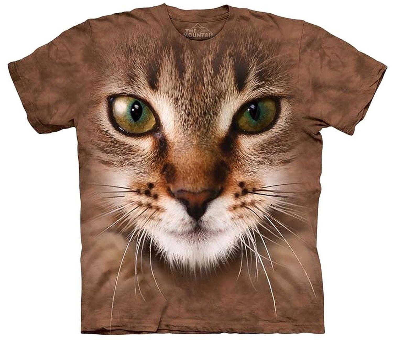 Amazon Cat Face T Shirt Clothing