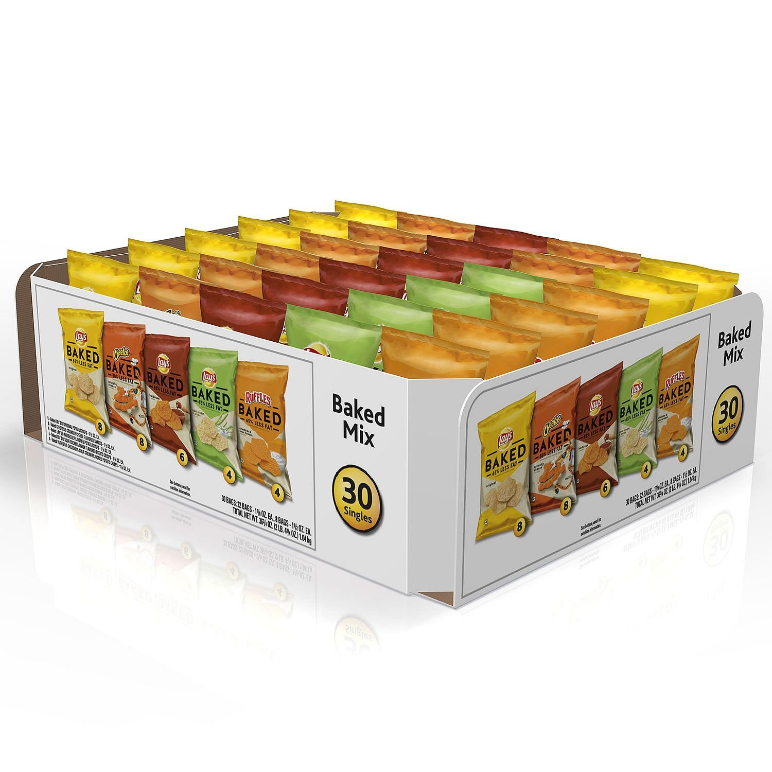 Frito-Lay Oven Baked Chips and Snacks Variety Pack (30 ct.)