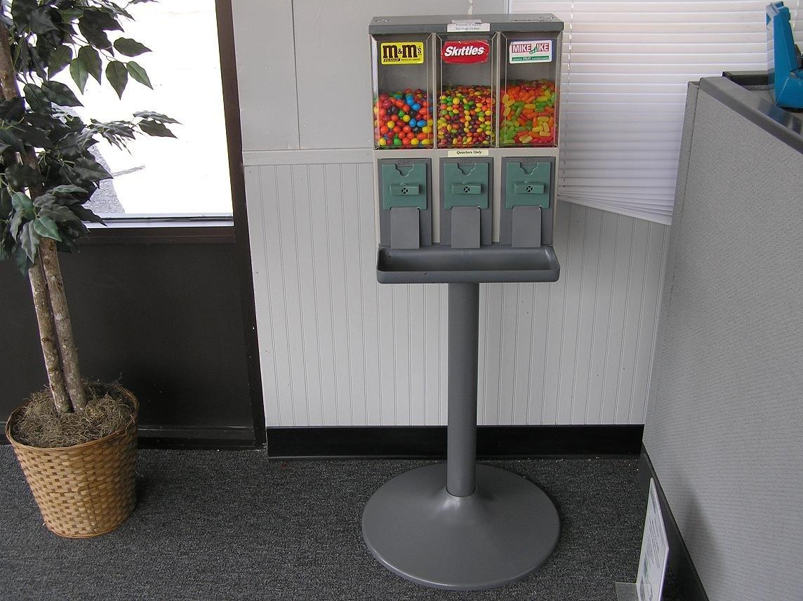 (6) VENDSTAR 3000 Bulk Candy Vending Machine Candy CANSITER Lens Wraps - New /!