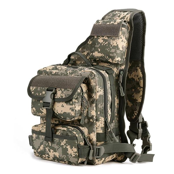 Amazon.com: Protector Plus Táctica Militar mochila Sling ...