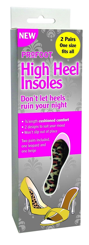 Dont Let Heels Ruin Your Night Profoot High Heel insoles for women