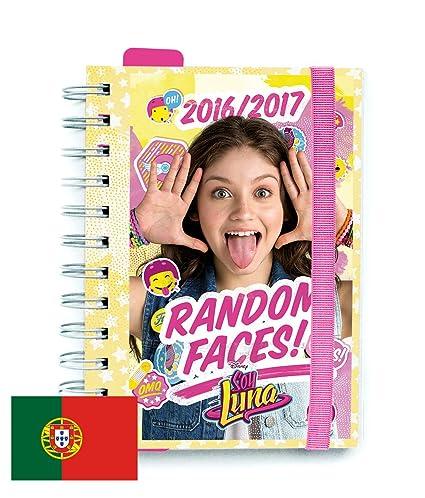 Agenda Escolar Dia Pagina 2016/2017 Soy Luna (PT): Amazon.es ...