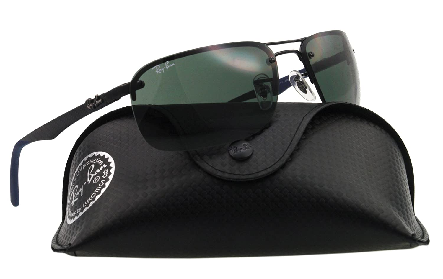 8cb0abb9f2 Ray-Ban Unisex Gradient Tech RB8310-002 71-63 Black Oval Sunglasses  Ray-Ban   Amazon.ca  Clothing   Accessories