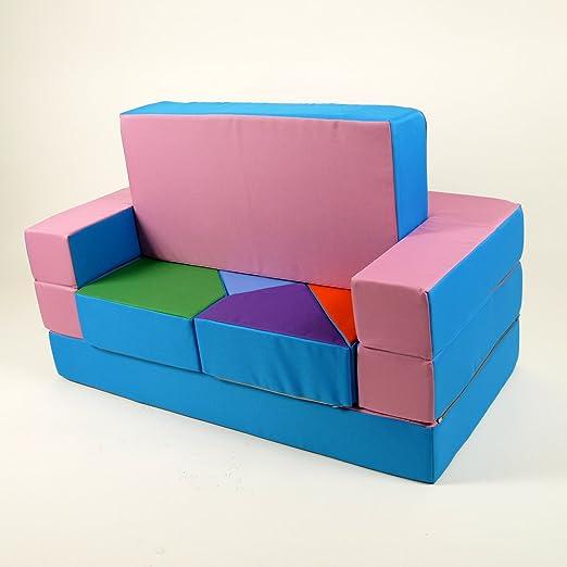 Barabike - Juego 4 en 1 para Cuarto de niños, sofá Suave, Muebles ...