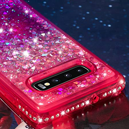 SHUYIT Samsung Galaxy S10 Plus Funda, TPU Silicona Glitter Carcasa para Samsung Galaxy S10 Plus Líquido Dinámico Arena Movediza Case Bumper Cover Fluir ...