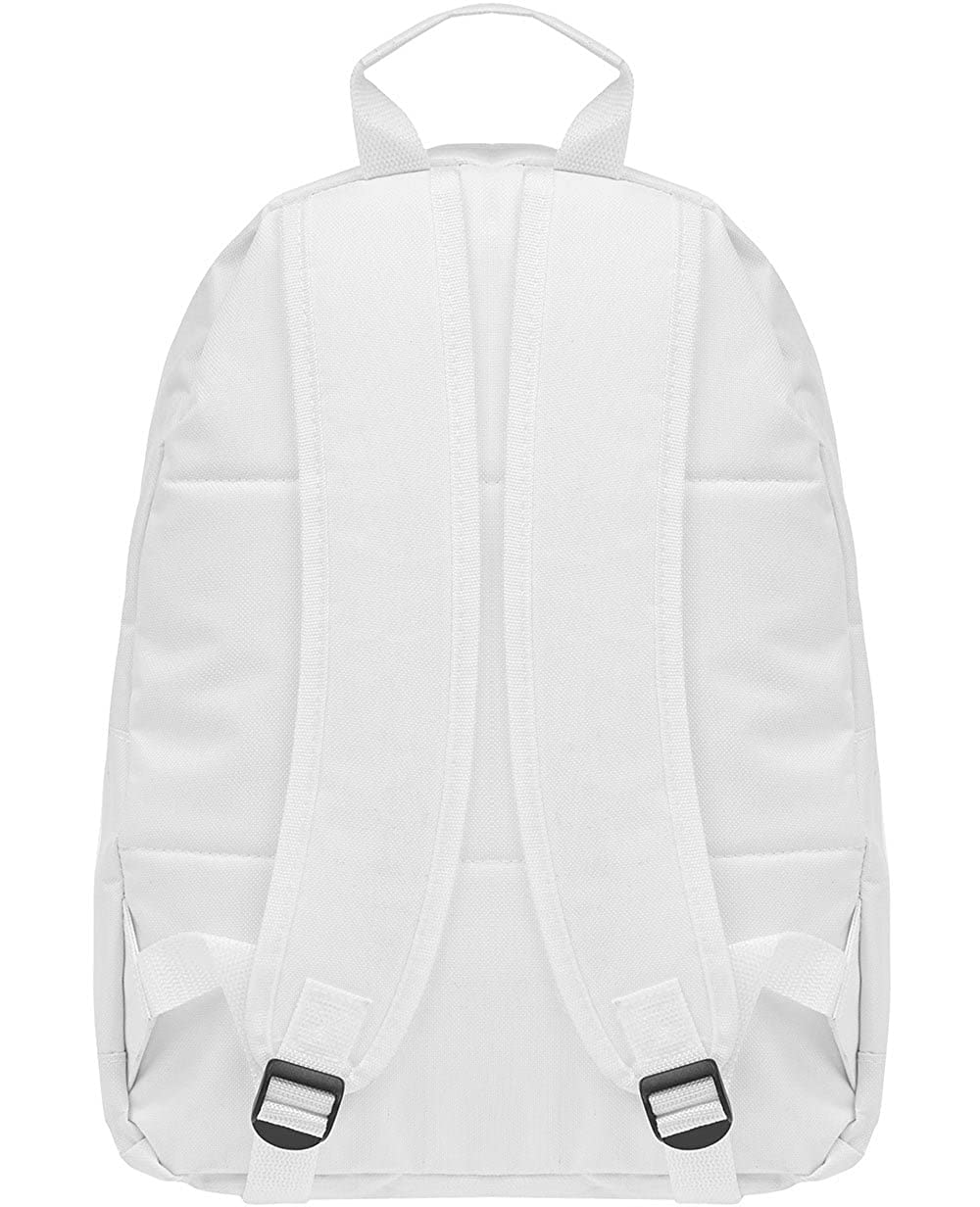 9df8b1def1 Twisted Soul Mens White Coded Logo Rucksack Backpack Carrier Sports Casual  Bag  Amazon.co.uk  Shoes   Bags