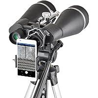 Gosky Titan 20x80 Astronomy Binoculars, Giant Binocular with Braced-in Tripod Adapter,Carrying Case,Protective Shield…