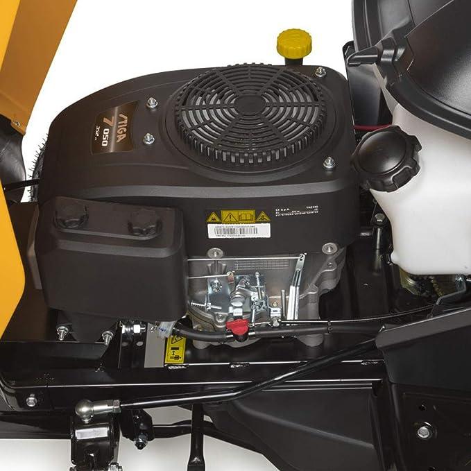 Tractor cortacésped Stiga Estate 2084 con bolsa de recogida ...