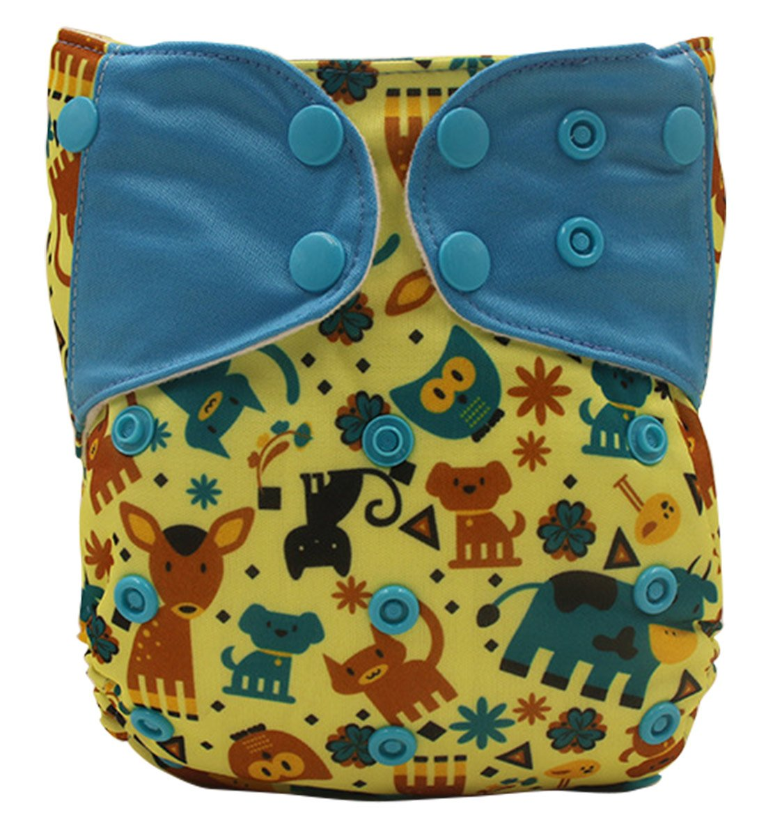 Baby's Swim Diaper Reuseable Washable Shorts Adustable Diaper Pocket