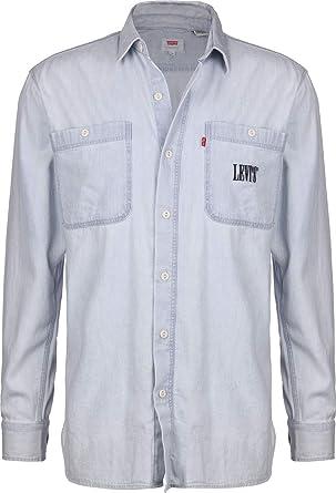 Levis® New Camp Camisa de Manga Larga: Amazon.es: Ropa y ...
