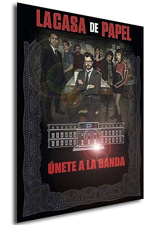 Instabuy Poster La casa de Papel - Cartel de Teatro (A) - A3 (42x30 cm)