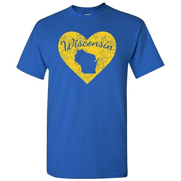 I Love State Heart T-shirt Basic