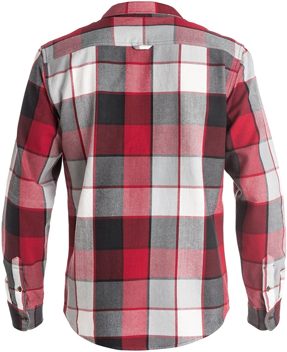 DC Mens Kalis Plaid Long Sleeve Flannel
