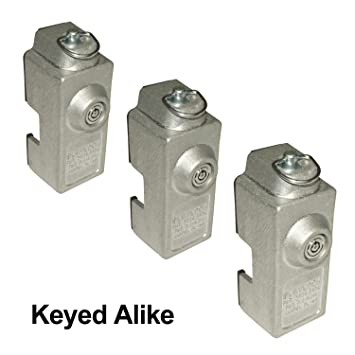 Blaylock DL-80 Cargo Trailer Door Lock - 3-Pack of Keyed Alike Locks  sc 1 st  Amazon.com & Amazon.com: Blaylock DL-80 Cargo Trailer Door Lock - 3-Pack of ...