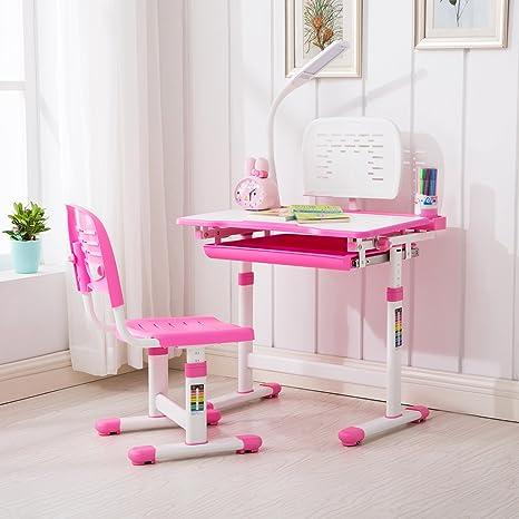 Amazon.com: Juego de mesa y silla para niños, mesa ...