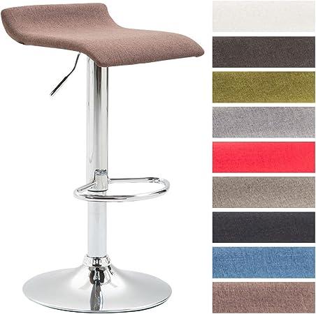 CLP Tabouret de Bar DYN V2 Tissu Chaise de Bar Réglable en