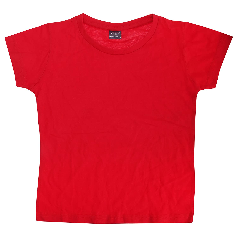 SOLS Girls Cherry Short Sleeve T-Shirt
