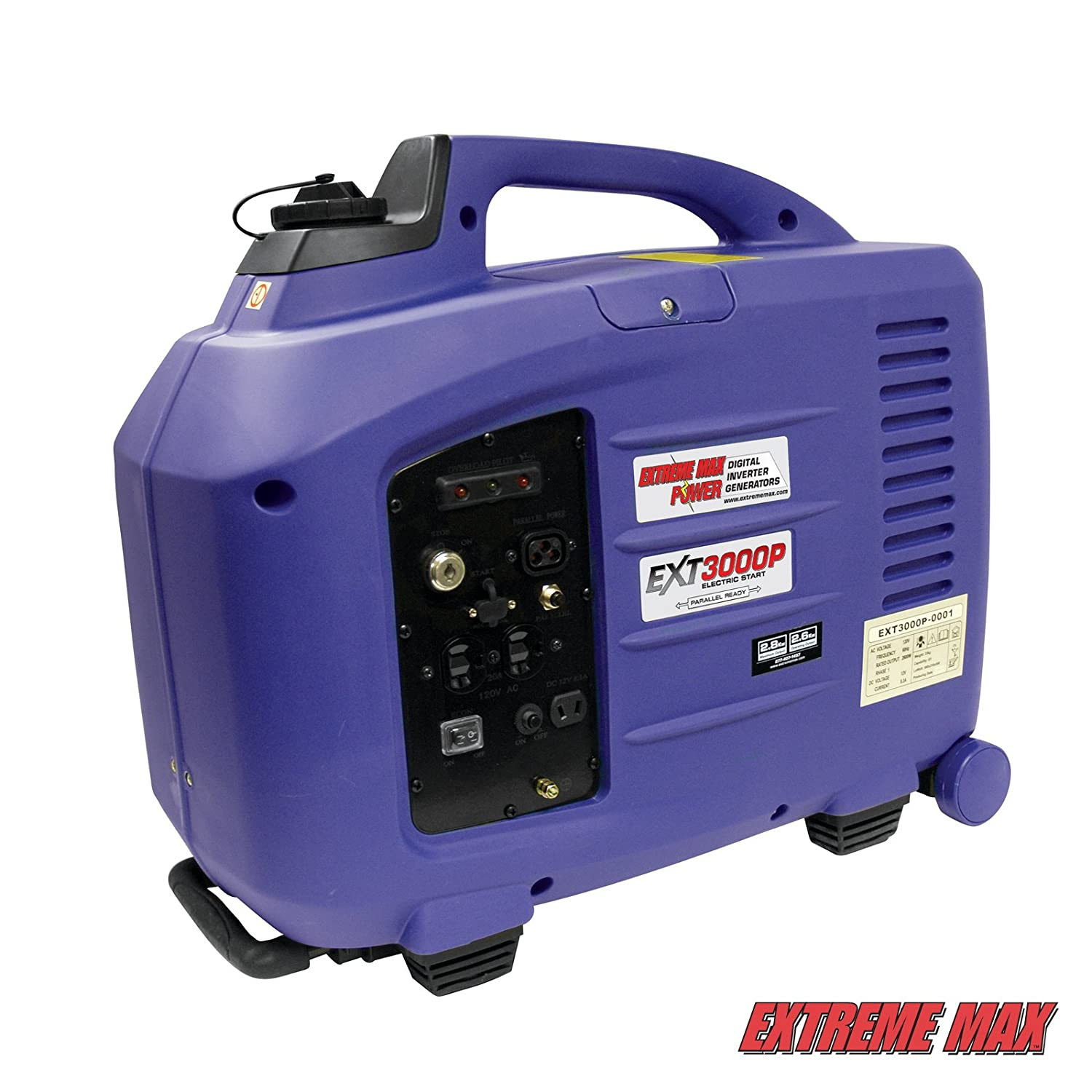 Amazon Extreme Max EXT3000P Parallel Ready Electric Start