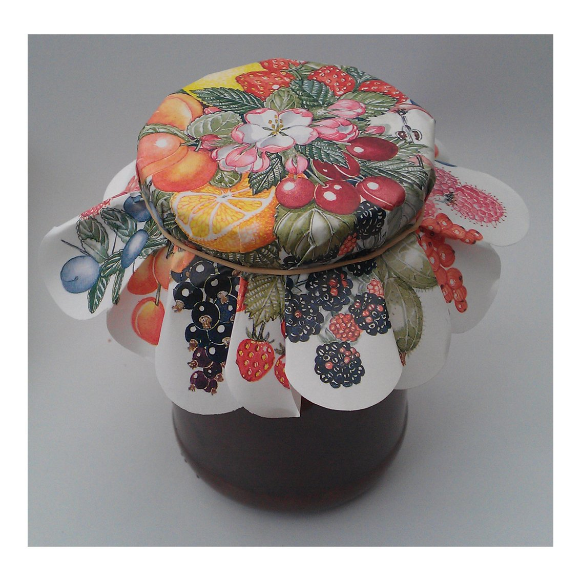 Paper Jar Covers for Jams & Preserves packet of 50 covers Countryside-Direct