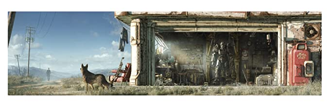 Fallout 4 Key Art Wall Wrap (PS4/Xbox One/PC): Amazon co uk: PC