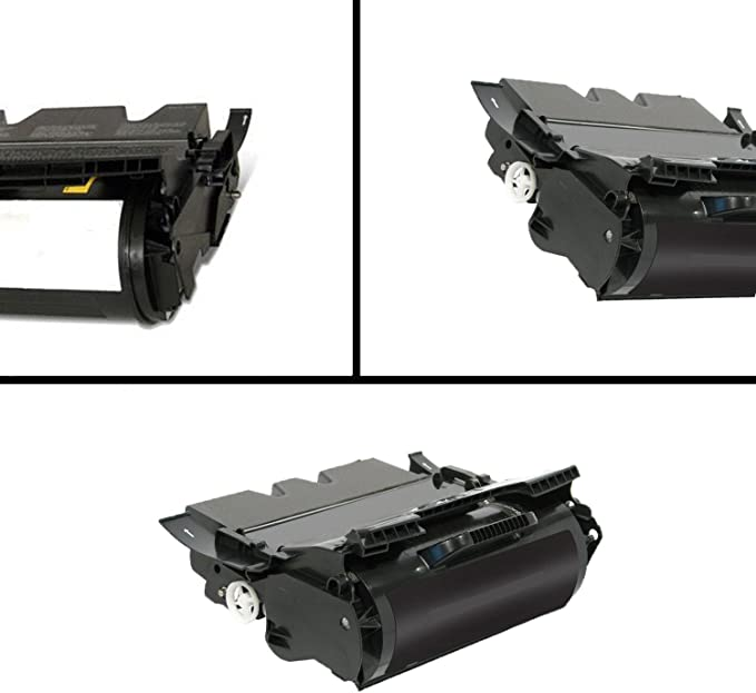 T620dn T620n Awesometoner Remanufactured Made in USA Toner Cartridge Replacement for Lexmark 12A6865 T620 use with T620 Black, 3-Pack T620in