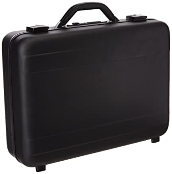 e028f5509235 TZ Case International Tz Molded Aluminum Attache Case, Black, 18 X 13 X 5