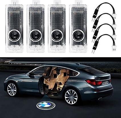 LED para puerta de coche láser proyector de logo luz para BMW ...